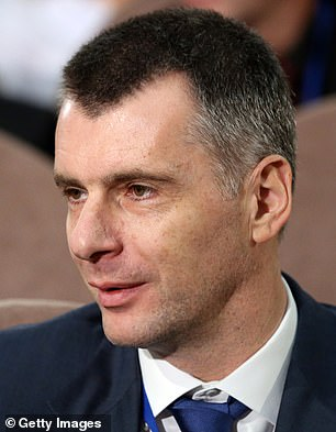 There's also mention of Mikhail Prokhorov, a Russian politician and former owner of the Brooklyn Nets