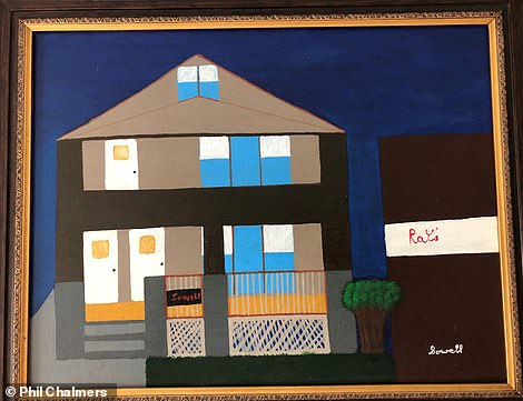 A painting by serial killer Anthony Sowell