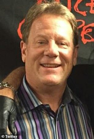 Chicago radio host Dan McNeil (pictured) has been fired after he remarked that ESPN sideline reporter Maria Taylor's outfit belonged at a porn awards show on Monday night
