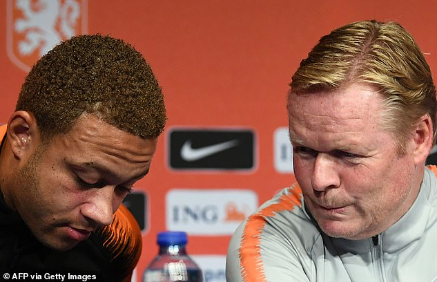 Ronald Koeman has been looking to reunite with Depay after coaching him with Holland