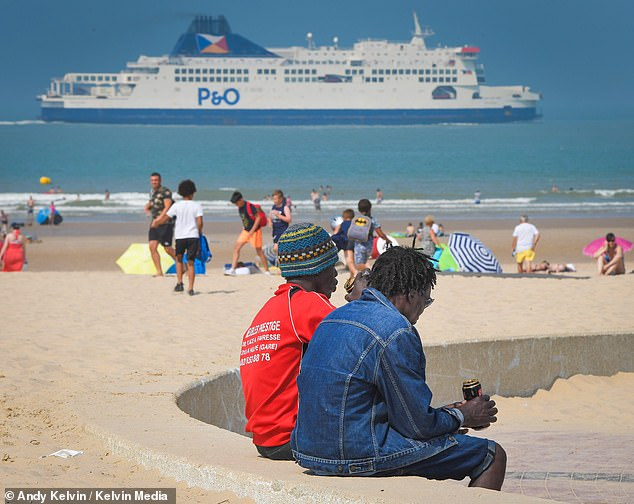 Britain can ill-afford this sum as it battles the economic impact of Covid-19. Pictured: Plage de la Rotonde in France