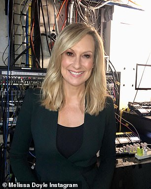 Melissa Doyle and Seven executives exchanged gushing statements when she left the building
