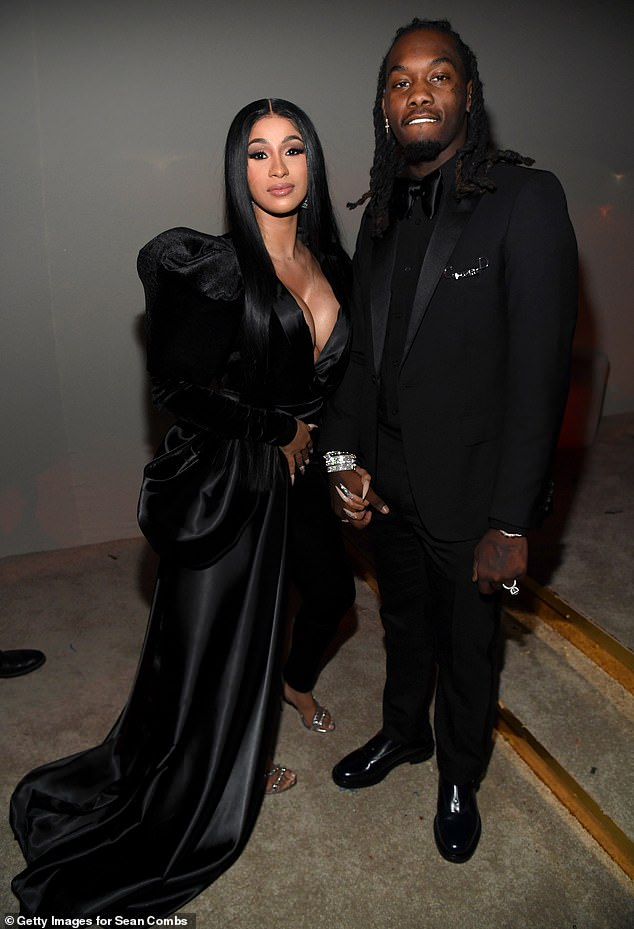 Softening: Cardi B, 27, plans to amend her divorce petition to request joint custody of her two-year-old daughter Kulture with her ex Offset, 28, despite originally requesting sole custody, accroding to TMZ; shown in December 2019