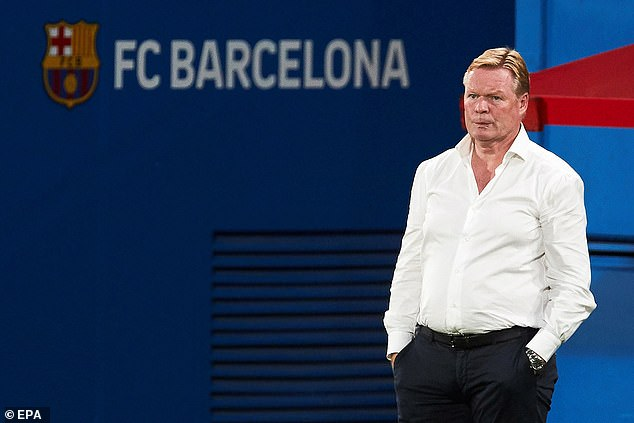 New Barcelona manager Ronald Koeman does not expect the transfer to go through