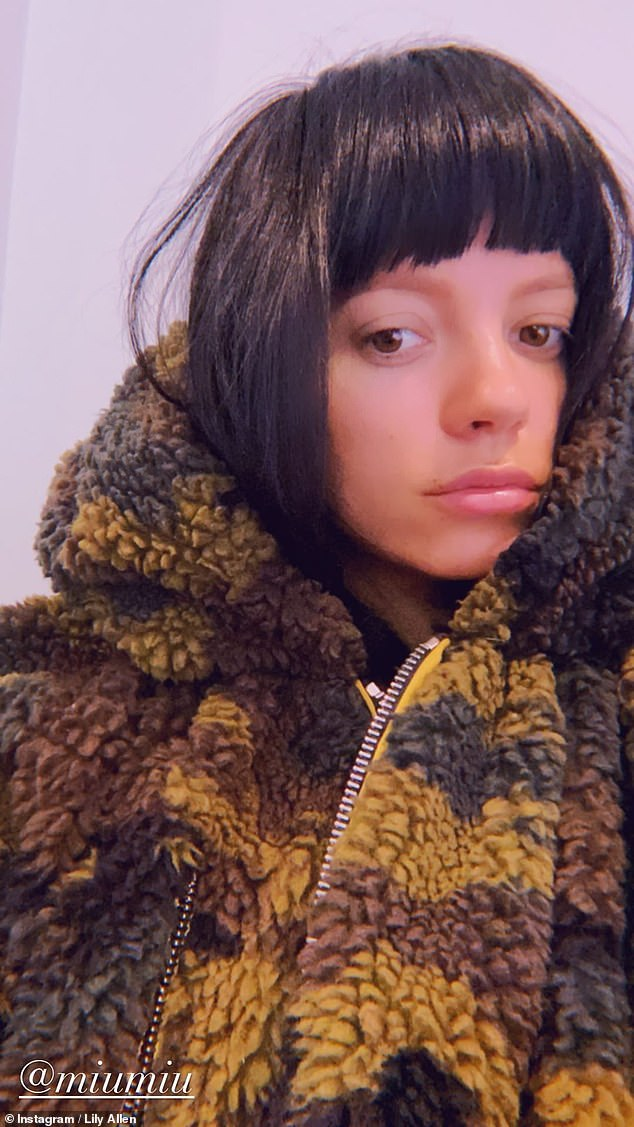 Home again!Lily Allen has begun her two week quarantine after returning to the UK following her Las Vegas wedding to Stranger Things' David Harbour