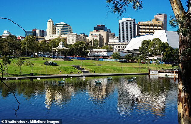 Adelaide CBD (pictured) in South Australia will lose about $5million