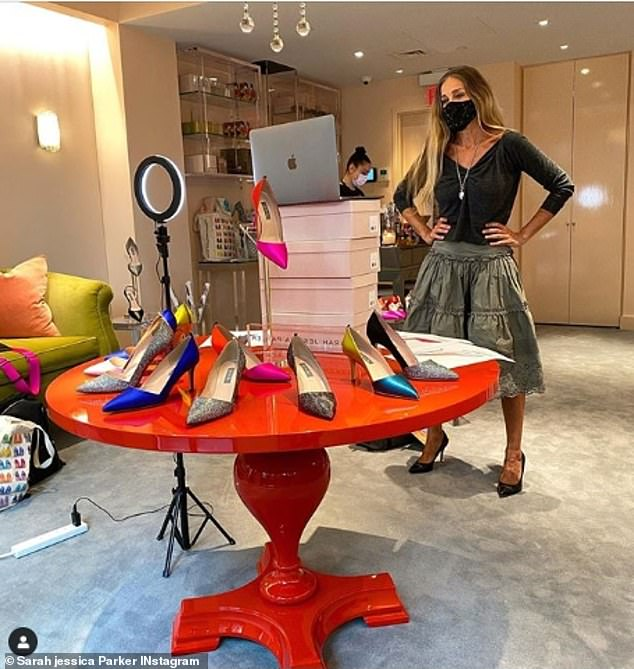 SJP: Though focusing on her line SJP, Parker is making the jump back to television with her new dating show for Lifetime called Swipe Swap