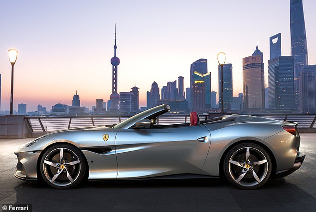 It is essentially two cars in one: a beautifully streamlined sporting berlinetta coupe and a rakishly gorgeous convertible drop-top spider combining practicality and sports car looks withthe romance of the open road