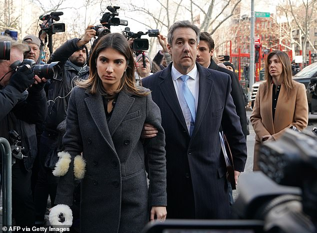 Michael Cohen has defended himself after he was heard on tape laughing while a friend praised his daughter Samantha's body and tried to guess the size of her breasts, as Trump's former personal attorney says he has nothing to apologize for