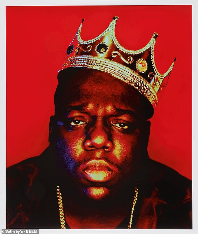 Tragic death: The four-time Grammy nominee (born Christopher Wallace) was murdered, age 24, in a drive-by shooting just three days after sitting for the 'King of New York' cover shoot for Rap Pages
