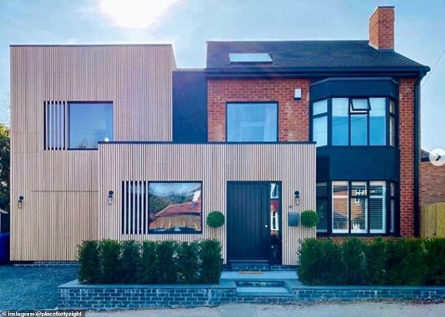 The stunning and modern property is now unrecognisable having undergone a thorough renovation and with the additional two extensions