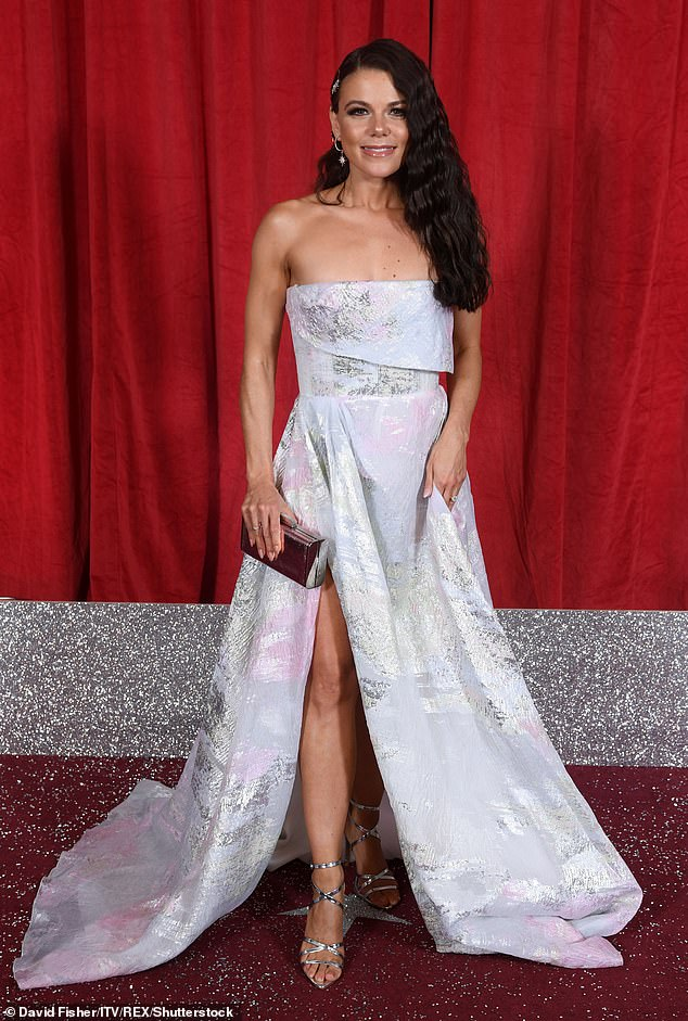 Line-up: It comes after former Coronation Street actress Faye Brookes was said to have also signed up for Dancing On Ice on Tuesday (pictured in 2019)