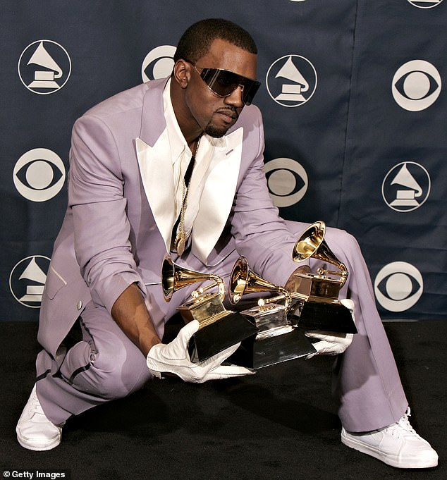 Kanye West Urinates On Grammy, Declares 'Black Masters Matter' 4