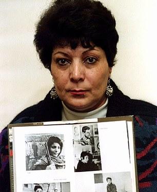 Palestinian militant Leila Khaled