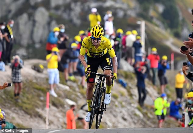Primoz Roglic of Slovenia extended his lead in the yellow jersey on a gruelling day