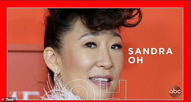Sandra Oh will also make an appearance on the show - which marks the first time TIME's annual ranking of the 100 Most Influential People will be broadcast in a TV special