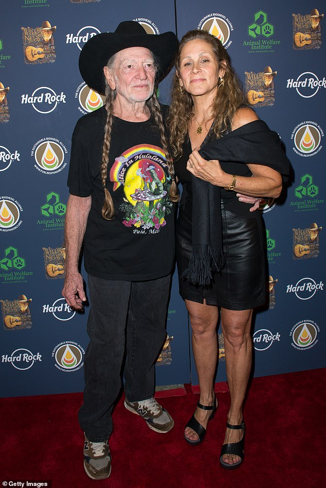 Lasting love: Willie and wife Annie, snapped in 2013, have been married 29 years