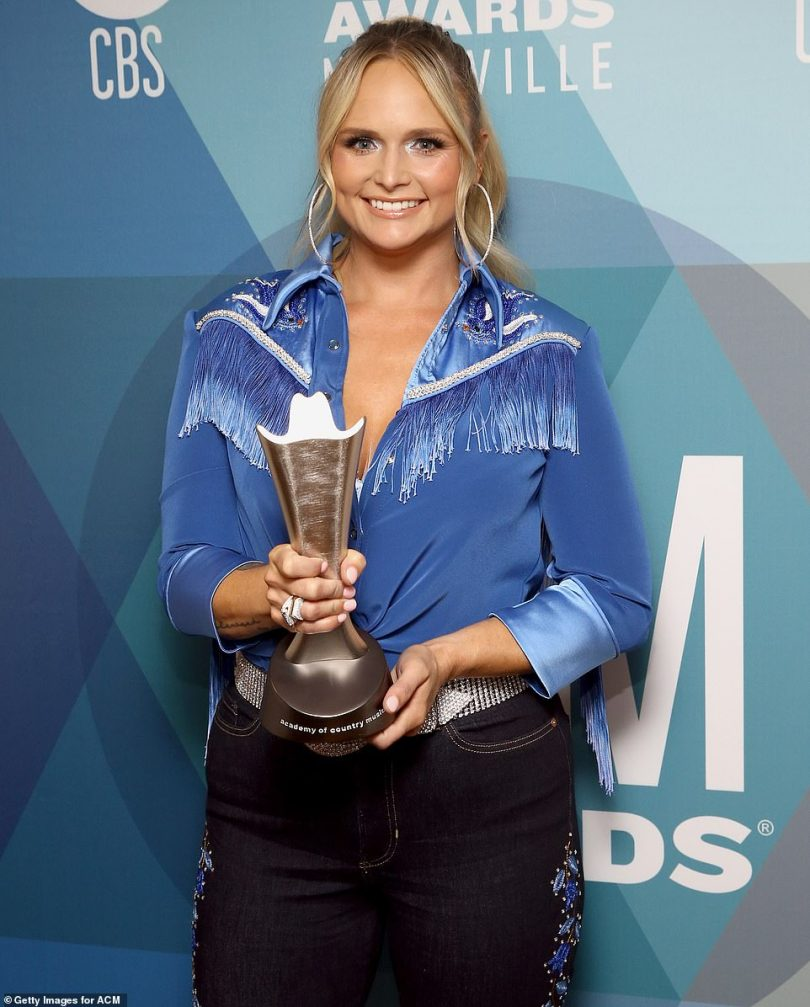 Advance notice: Miranda Lambert won Musical Event of the Year on Monday, which was presented early on CBS This Morning