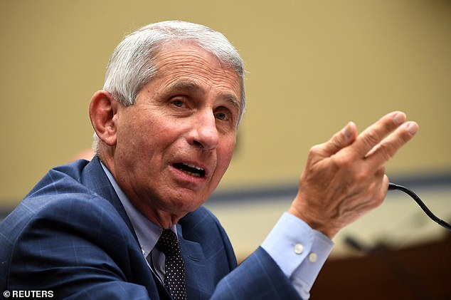 Caputo added his thanks to Dr. Anthony Fauci, a member of the White House coronavirus task force who he says talked to his personal physician about his medical issues