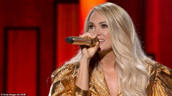 Entertainers Of The Year: She also performed an awe-inspiring medley of some of her greatest hits, alongside fellow Entertainer of the Year nominees Luke Combs, Luke Bryan, Thomas Rhett, and Eric Church. Underwood was the only female nominee