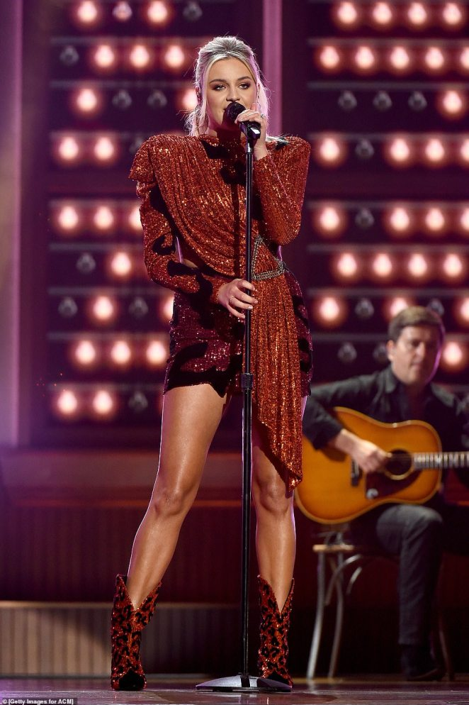 Hole In The Bottle: Kelsea Ballerinioozed confidence as she belted out the lyrics to her new single Hole In The Bottle