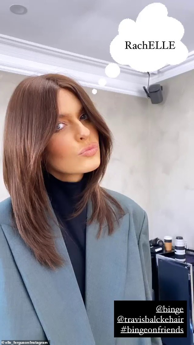 Style: Created by celebrity hairdresser Travis Balcke, the RachElle is a modern take on the classic hairstyle that features a fuller brunette colour, is slightly longer in length and achieves more refined and polished layering