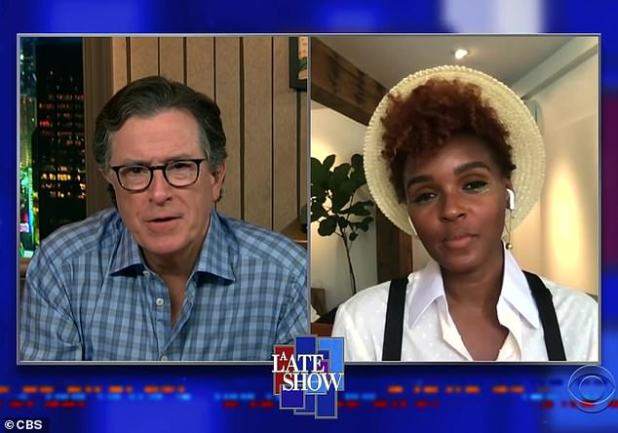 I'll Never Forget It ': During an appearance on The Late Show with Stephen Colbert, Janelle Monae recalled her' Last Dance 'with the late Black Panther star Chadwick Boseman