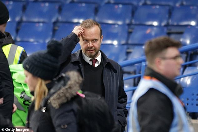 Ed Woodward has so far failed to strengthen Ole Gunnar Solskjaer's squad sufficiently