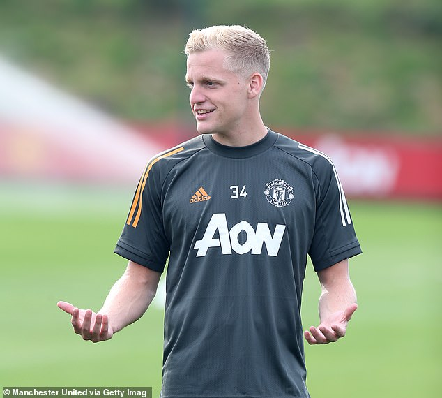 United have so far only signed Donny van de Beek from Ajax for £40m in this window so far