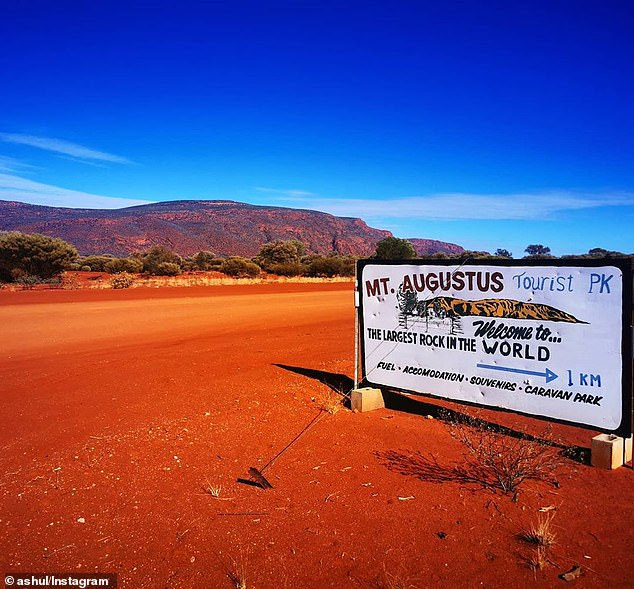 The 53-year-old was found dead at the base of Mount Augustus on Monday afternoon, about 1,000 kilometres north of Perth in Western Australia