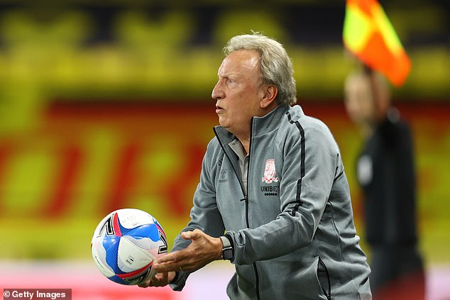 Neil Warnock will miss Middlesbrough's game with Bournemouth after a positive Covid-19 test