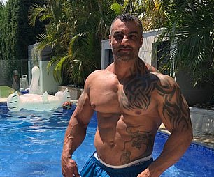 Former Comanchero Mahmoud 'Mick' Hawi (pictured) was gunned down in broad daylight outside a south Sydney gym on February 15, 2018