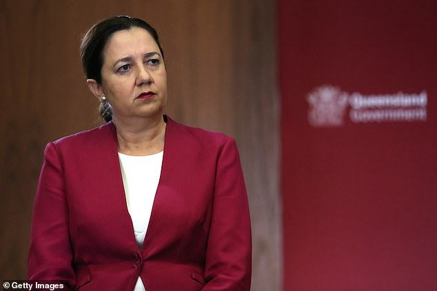 Annastacia Palaszczuk has been accused of breaching her own tough COVID-19 rules by attending a funeral and waiting two days to get tested after having a croaky voice