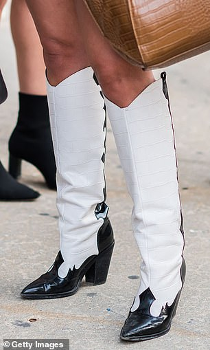 The western boot trend was big at NYFW