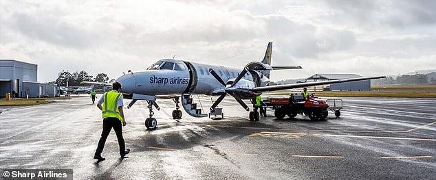 Sharp Airlines will begin running three return flights a week between Hobart and King Island and Hobart and Flinders Island from 30 September
