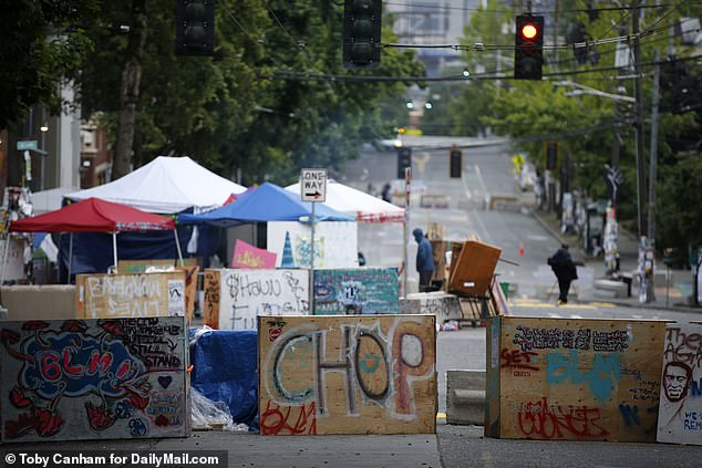 The 'Capitol Hill Organized Protest was a three-week long 'occupation' by anti-racism protesters in Seattle who set up a several-block perimeter where there were no police presence within the boundaries. Two people were killed and several were wounded in shootings in the CHOP