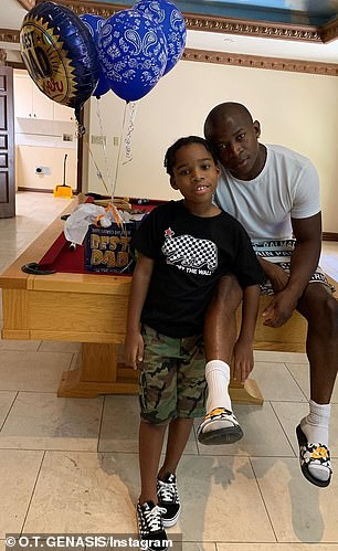 He's also father to 10-year-old son Genasis 'Lil Gen' Flores from a previous relationship