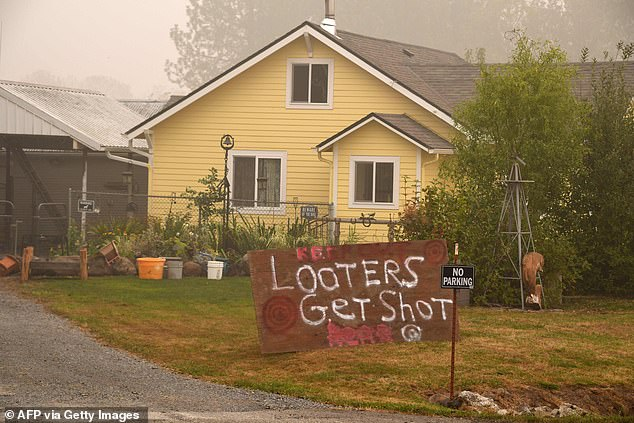 Police in Oregon have arrested a string of suspected looters during the ongoing wildfires, as cops claim the criminals are making bogus 911 calls to divert officers elsewhere