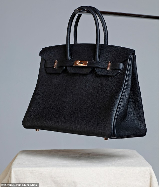 The item that attracted the largest bid was a Birkin bag donated by its namesake, Jane Birkin, which went for a whopping £35,000