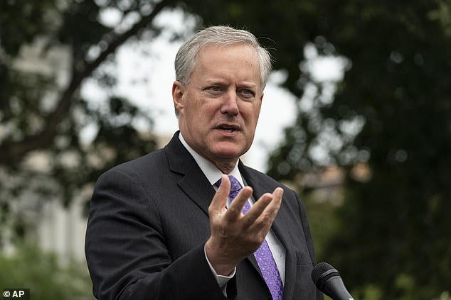 White House Chief of Staff Mark Meadows told reporters Thursday morning that Centers for Disease Control and Prevention head, Dr. Robert Redfield, was 'not closest to the decision making' when it came to the timeline of COVID-19 vaccine distribution