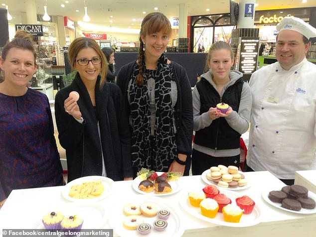 What an effort!The 31-year-old is a talented chef who in 2013 won first place at the Tastes of Central Geelong food festival with her 10-layer coffee cake