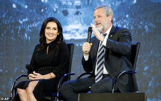 """According to records and 911 audio, on the night of Aug. 30, Jerry Falwell Jr. was intoxicated and apparently injured; his wife, Becki Falwell, described """"a lot of blood right now."""""""
