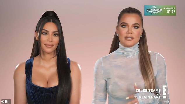 You heard me:'Not like a blackout. We just want her to not remember,' said Kim, attempting to clarify their intentions. But Khloe, set in her ways, corrected Kim and said: 'A blackout'