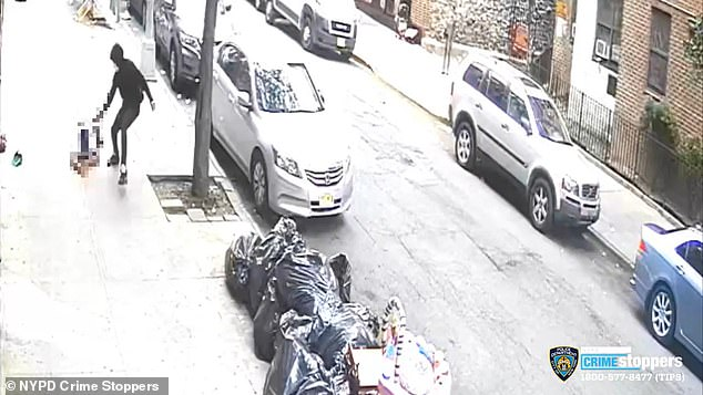 Last Thursday, 17-year-old Kether Werts was shot dead in the Crotona neighborhood of the Bronx (pictured)