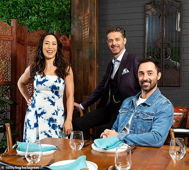 Headed their way? The keen bake told the website she is keen to take part in the cooking show. Pictured: MasterChef Australia judgesMelissa Leong,Jock Zonfrillo and Andy Allen