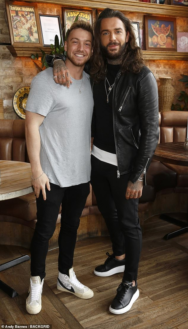 Speaking: Sam's close friend Pete Wicks recently admitted he had warned him about returning with Zara t after the couple broke up