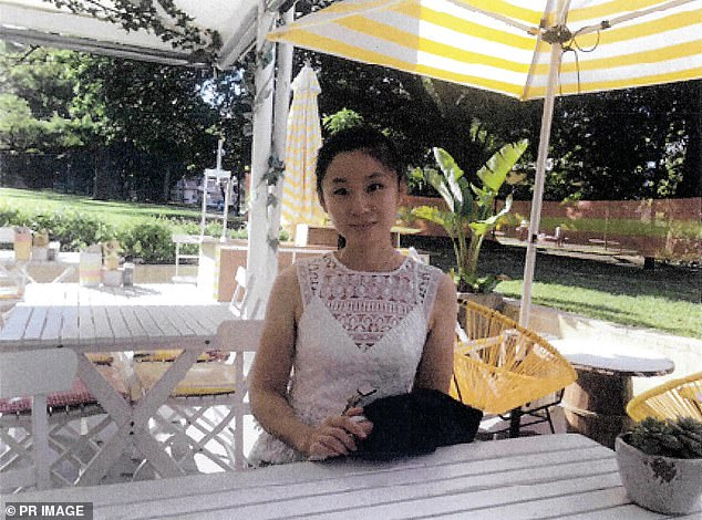 Qi Yu, 28, (pictured) was murdered on June 8 in 2018 and her body was found six weeks later in bushland in Mount Ku-ring-gai