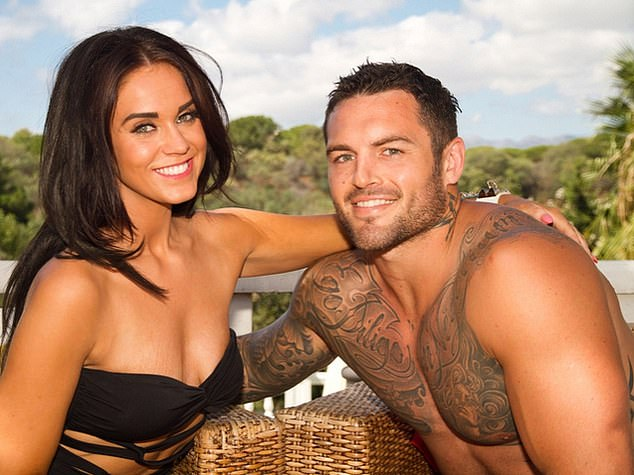 The 34-year-old had also starred on the hit reality show Geordie Shore with Vicky Pattison