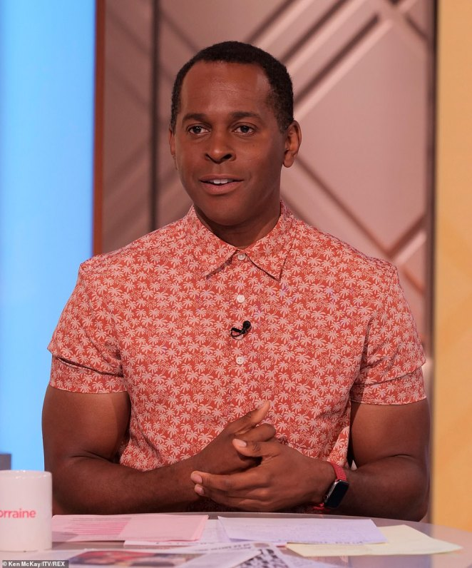 And him! Another surprise signing would be GMB's Andi Peters, who sparked speculation he could be heading to the jungle when he recently hosted a segment from an activity centre