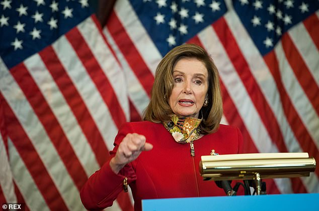 Speaker of the United States House of Representatives Nancy Pelosi (Democrat of California) made comments at odds with Biden when she said: 'Would they have all been saved? No. But many would have'